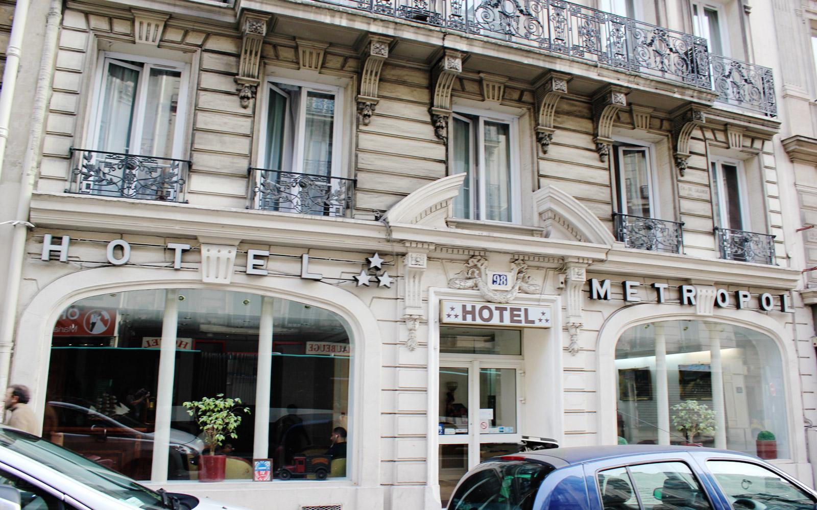 H tel m tropol paris gare du nord site officiel for The hotel paris